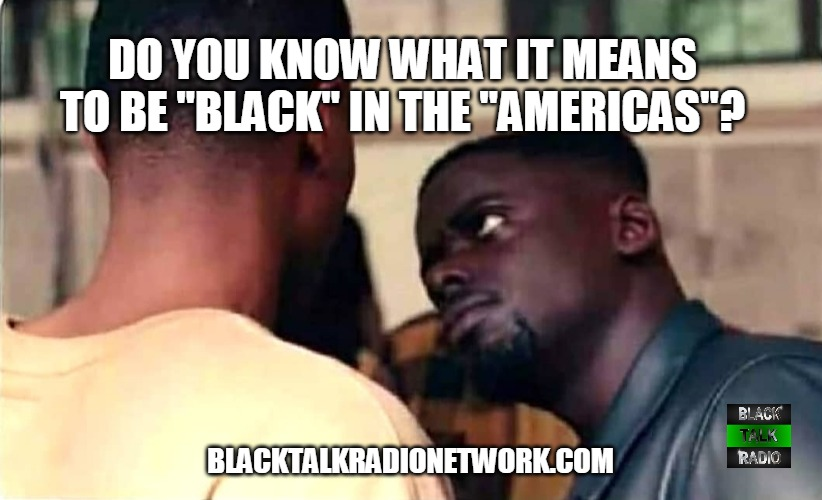 To Be Black In America