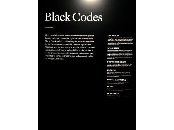 Black Codes (Laws)